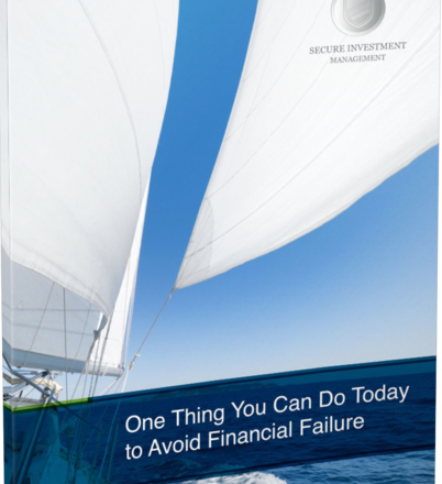 One thing You can Do Today to Avoid Financial Failure